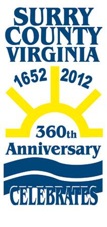 Surry County, Virginia 1652-2012 360th Anniversary Celebrates